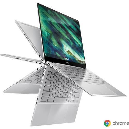 C436FA-E10068 ASUS Chromebook Flip [ 14型 / フルHD タッチパネル / i5-10210U / 8GB RAM / 256GB SSD / Chrome OS / エアロジェルホワイト ]