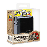 Dual Charger JF-PEACE11K(ブラック)