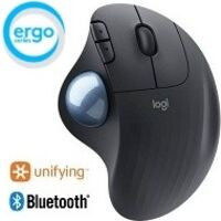 ERGO M575 Wireless Trackball Mouse (グラファイト)