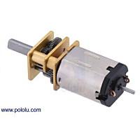 Pololu 150:1 シャフト付き超小型メタルギアドモーター HPCB 6V:POLOLU-3076
