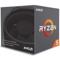 Ryzen 5 2600 with Wraith Stealth cooler (YD2600BBAFBOX) 《送料無料》