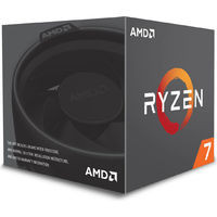 AMD Ryzen 7 2700 with Wraith Spire(LED) cooler (YD2700BBAFBOX) ※ウィンターボーナスSALE! 《送料無料》