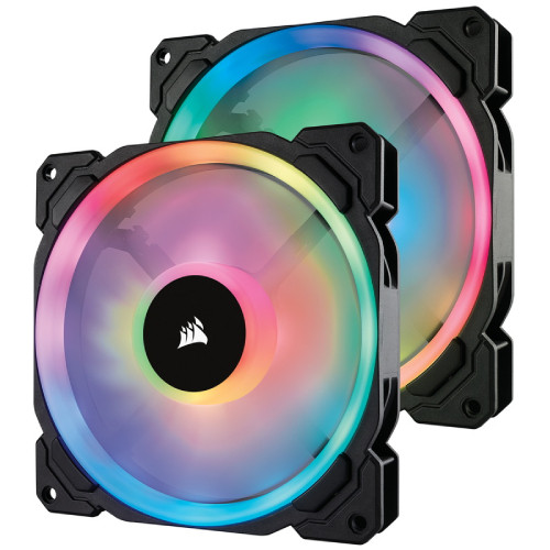 LL140 RGB 2 Fan Pack with Lighting Node PRO (CO-9050074-WW) 《送料無料》
