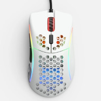 Glorious Model D- Mouse (Glossy White) GLO-MS-DM-GW 有線 軽量62g ゲーミングマウス