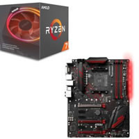 Ryzen 7 2700X + MSI X470 GAMING PLUS セット