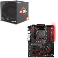 Ryzen 5 2600 + MSI X470 GAMING PLUS セット