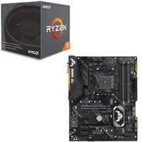 Ryzen 5 2600 + ASUS TUF X470-PLUS GAMING セット