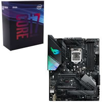 Core i7-9700K + ASUS ROG STRIX Z390-F GAMING セット