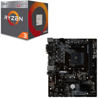 Ryzen 3 2200G + MSI B450M PRO-M2 セット