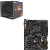 Ryzen 5 2600X + ASUS TUF B450-PLUS GAMING セット