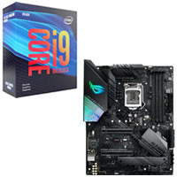 Core i9-9900KF + ASUS ROG STRIX Z390-F GAMING セット