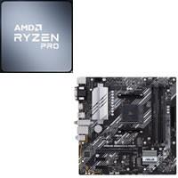 Ryzen 7 PRO 4750G + ASUS PRIME B550M-A (WI-FI) セット