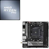 Ryzen 5 PRO 4650G + ASRock B550M-ITX/ac セット