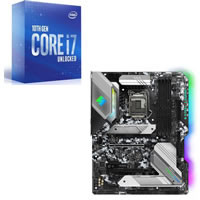 Core i7-10700K + ASRock Z490 Steel Legend セット