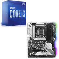 Core i3-10100F + ASRock H470 Steel Legend セット