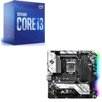 Core i3-10100F + ASRock B460M Steel Legend セット