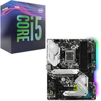 Core i5 9500 + ASRock Z390 Steel Legend セット