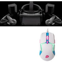 VALVE INDEX VR KIT V003683-20 + LEVEL 20 RGB GAMING MOUSE HATSUNE MIKU EDITION GMO-LVT-WDOOWB-09 セット