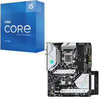 Core i5-11600K + ASRock Z590 Steel Legend WiFi 6E セット