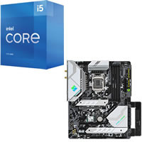 Core i5-11400 + ASRock Z590 Steel Legend WiFi 6E セット