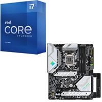 Core i7-11700K + ASRock Z590 Steel Legend セット