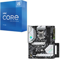 Core i5-11600K + ASRock Z590 Steel Legend セット