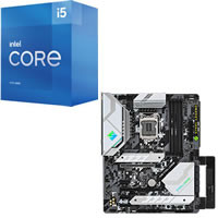Core i5-11400 + ASRock Z590 Steel Legend セット