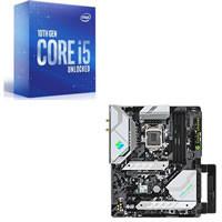 Core i5-10600K + ASRock Z590 Steel Legend WiFi 6E セット