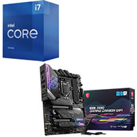 Core i7-11700 + MSI MPG Z590 GAMING CARBON WIFI セット