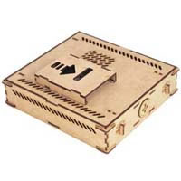 Ripple Wooden DIY Case NT-TX4000W 《送料無料》