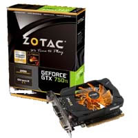 GeForce GTX 750 Ti 2GB ZTGTX750TI-2GD5R01/ZT-70601-10M 《送料無料》