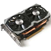 ZOTAC GeForce GTX 1070 Mini 8GB (ZTGTX1070-8GD5MINI01/ZT-P10700K-10M)
