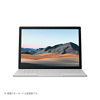 SLS-00018 Surface Book 3 [ 13.5型 / 3000×2000 タッチパネル / i7-1065G7 / GTX 1650 Max-Q / 32GB RAM / 1TB SSD / Windows 10 Home / MS Office H&B / プラチナ ]