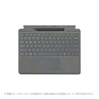25O-00079   Surface Pro X Signature キーボード (プラチナ)