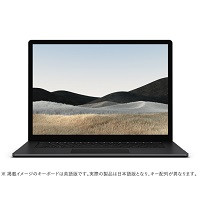 5IV-00015 Surface Laptop 4 [ 15型 / 2496×1664 タッチパネル / i7-1185G7 / 32GB RAM / 1TB SSD / Windows 10 Home / MS Office H&B / ブラック ]
