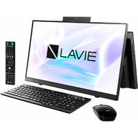 PC-HA770RAB LAVIE Home All-in-one HA770/RA (ファインブラック) 《送料無料》