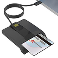 IMD-CSI384-A Single smart card reader USB-A
