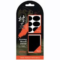 Gaming Mouse Sticker SAMURAI 村正 SM10BK (ブラック)