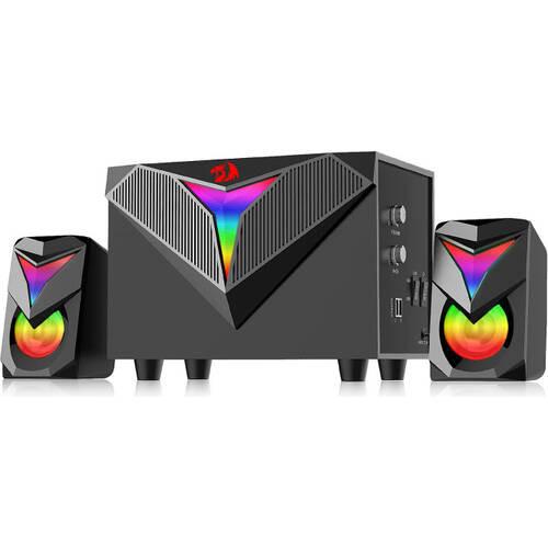 REDRAGON GS700TI [Toccata] RGB 2.1チャンネルスピーカー 3.5mmジャック USB給電