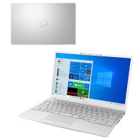 FMVU90E3W LIFEBOOK UH [ 13.3型 / フルHD / i7-1165G7 / 8GB RAM / 512GB SSD / Windows 10 Home / MS Office H&B / シルバーホワイト ]