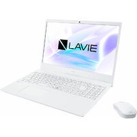 PC-N1535BAW LAVIE N15 [ 15.6型 / フルHD / i3-1115G4 / 8GB RAM / 256GB SSD / Windows 10 Home / MS Office H&B / パールホワイト ] 《送料無料》
