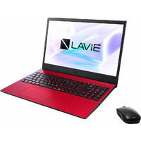 PC-N1535BAL LAVIE N15 [ 15.6型 / フルHD / i3-1115G4 / 8GB RAM / 256GB SSD / Windows 10 Home / MS Office H&B / カームレッド ]