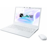 PC-N1475BAW LAVIE N14 [ 14型 / フルHD / i7-1165G7 / 8GB RAM / 512GB SSD / Windows 10 Home / MS Office H&B / パールホワイト ]