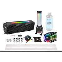 Pacific M360 Plus D5 Hard Tube RGB Water Cooling Kit CL-W218-CU00SW-A 《送料無料》