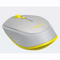 Bluetooth Mouse M337 GR [グレー] 3ボタン コンパクト マウス