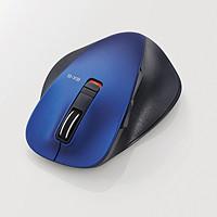 M-XGL10BBBU (ブルー) Bluetooth接続 BlueLED Lサイズ 5ボタン マウス