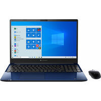 P1C4MPBL dynabook C4 [ 15.6型 / フルHD / Celeron 5205U / 4GB RAM / 256GB SSD / 1TB HDD / Windows 10 Home / MS Office H&B / スタイリッシュブルー ]