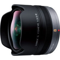 LUMIX G FISHEYE 8mm/F3.5 H-F008 《送料無料》