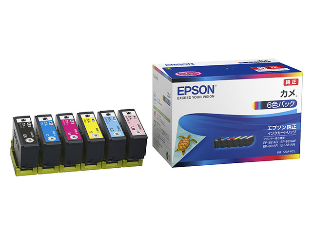 EPSON インクカートリッジ KAM-6CL