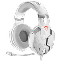 GXT 322W Carus Gaming Headset(スノー) 《送料無料》